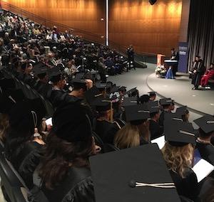 Creighton Graduate Hooding Ceremony