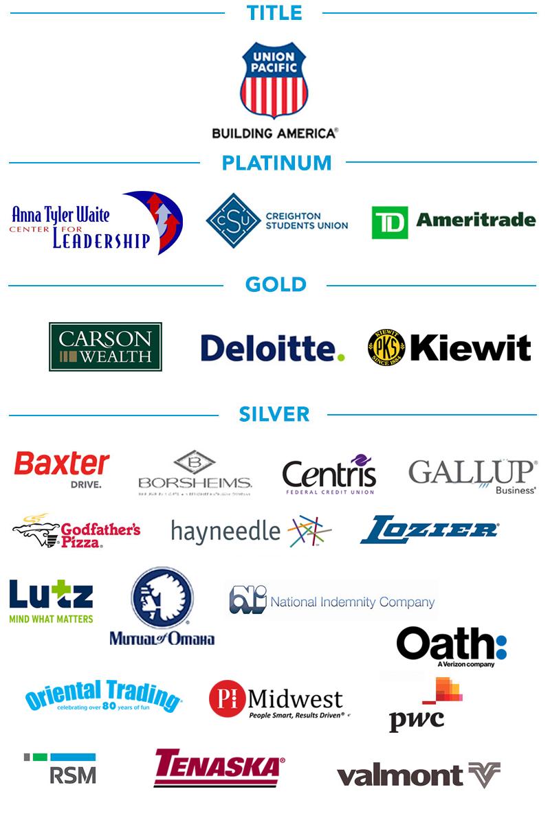 Creighton Business Symposium sponsors