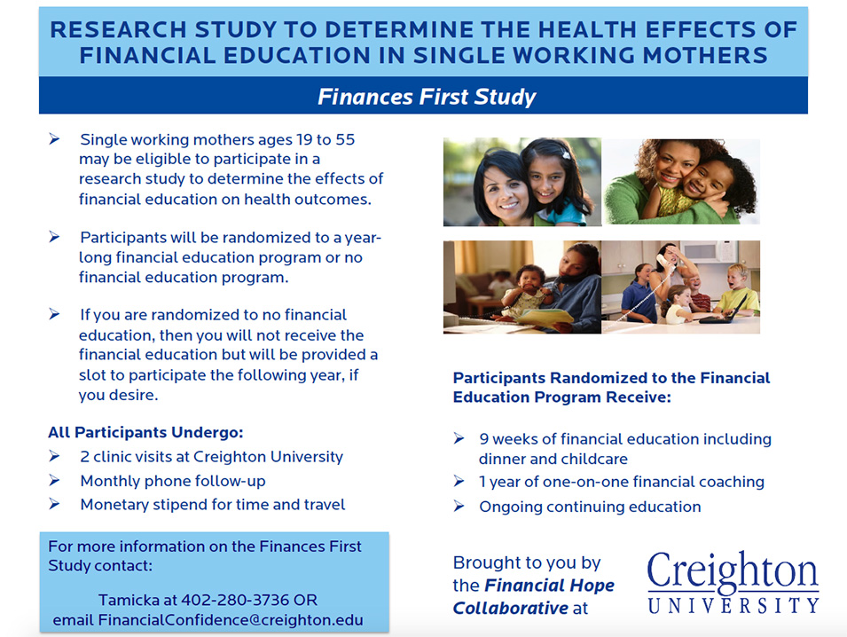 Finances First Study