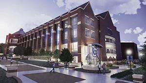 Harper Center Renovations - Updated Exterior
