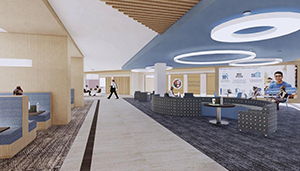 Harper Center Renovations - Updated Interior