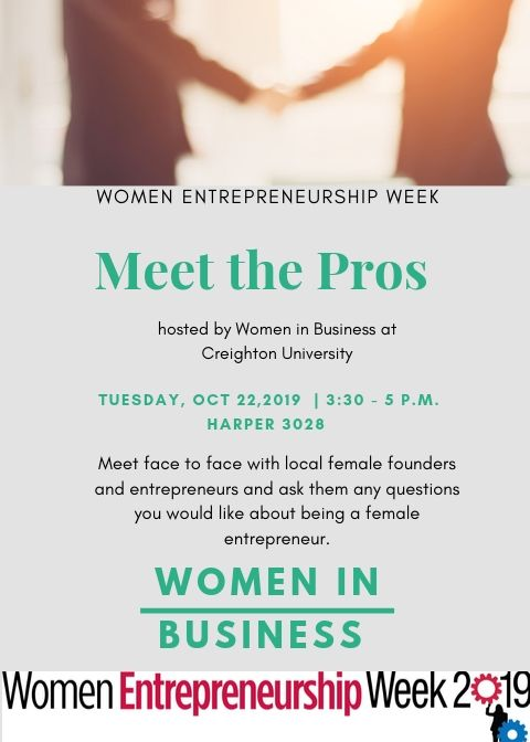 Women Entrepreneurship Week Creighton