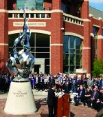 The Flame by Littleton Alson, Heider College of Business, Creighton University, Omaha, NE