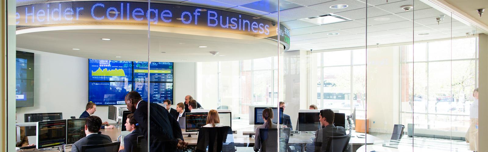 Heider Securities Investment and Analysis Center, Creighton university