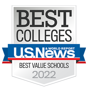 U.S. News Best Value badge