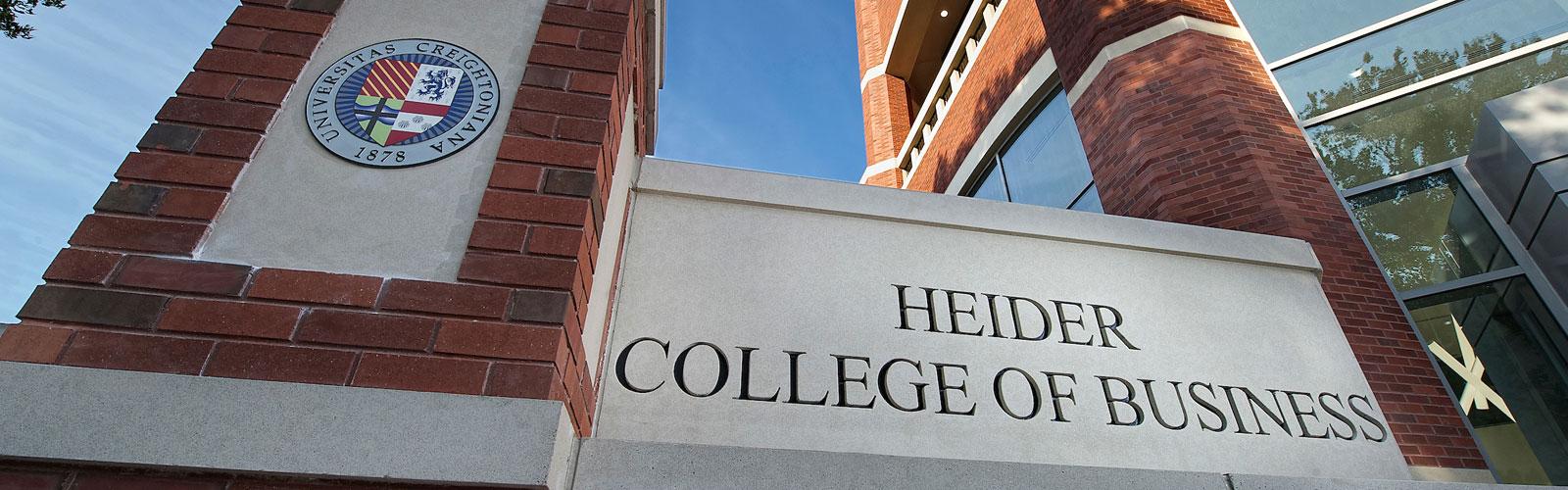 Heider College of Business at Creighton University