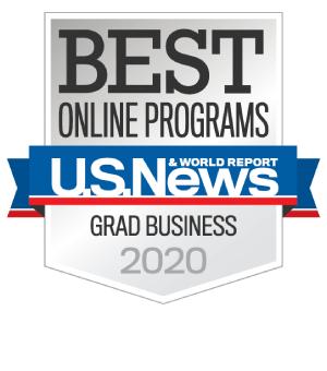 U.S. News & World Report - Best Online Programs Grad Business 2018