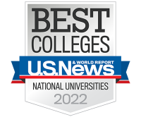 Creighton is a nationally ranked U.S. News college