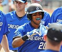 Bryce Only with Creighton team